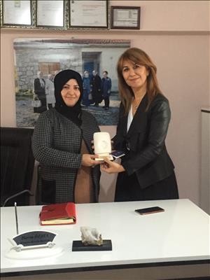 Hükam'dan Sungurlu Kadın Girişimi Üretim Ve İşletme Kooperatifi'ne Tebrik Ziyareti