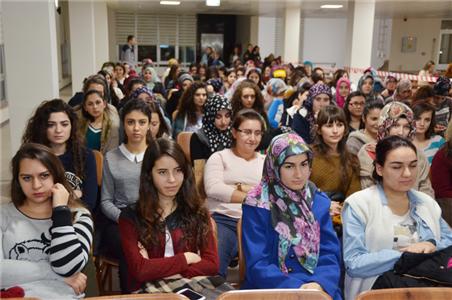 Rektörümüz KYK İskilipli Atıf Hoca Kız Öğrenci Yurdunda