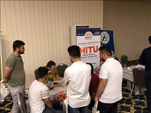 Üniversitemiz Erbil'de Düzenlenen Eğitim Fuarına Katıldı