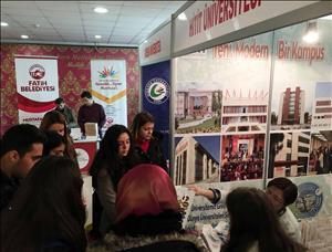 Üniversitemiz İstanbul'da Tanıtıldı