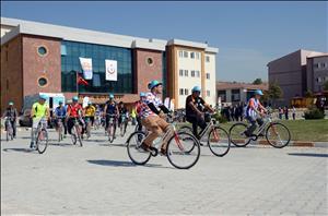 Üniversitemizde Bisiklet Devir Teslim Töreni Gerçekleştirildi