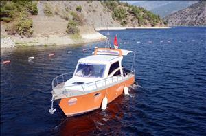 Uygulama ve Araştırma Teknemiz Düzenlenen Törenle Suya İndirildi