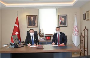 Hitit Üniversitesi Erol Olçok Eğitim ve Araştırma Hastanesi Birlikte Kullanım Protokolü Yenilendi