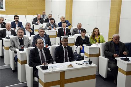 Rektörümüz İl Genel Meclis Üyeleriyle Bir Araya Geldi