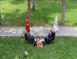 """Rektörümüz TRT Avaz """"Panorama"""" Programına Konuk Oldu"""