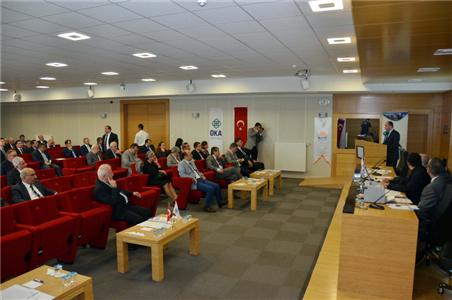 OKA 2015 Yılı Kalkınma Kurulu Toplantısının Üçüncüsü Yapıldı