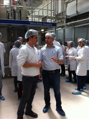 Öğrencilerimiz Dimes Meyve Suyu İşletmesi'ne Teknik Gezi Düzenledi