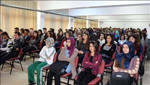 Rektörümüz Çorum Başöğretmen Anadolu Lisesi Öğrencilerine Seminer Verdi