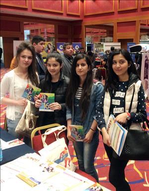 Üniversitemiz Azerbaycan'da KÜNİB Uluslararası Eğitim Fuarına Katıldı