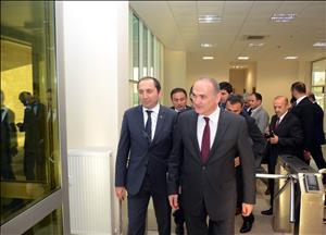 Bilim Sanayi ve Teknoloji Bakanı Dr. Faruk Özlü Teknokentimizi Ziyaret Etti