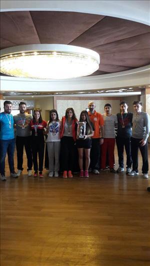 Üniversitemiz Badminton Takımı Süper Lige Yükseldi