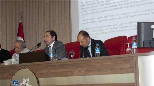 Rektör ALKAN, OKA 2012 Yılı 2. Kalkınma Kurulu Toplantısına Katıldı