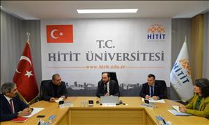 HİTÜ-TÖMER Açılış Toplantısı Düzenlendi