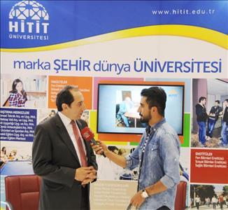 Üniversitemiz 33. Uluslararası Çorum Hitit Fuar ve Festivali'ne Katıldı
