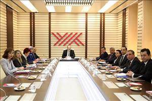 MYO Koordinasyon Kurulunun İlk Toplantısı YÖK'te Gerçekleştirildi