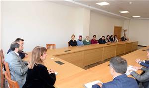 Rektörümüz Strateji Geliştirme ile Yapı İşleri ve Teknik Dairesi Başkanlığı Personeliyle Bir Araya Geldi