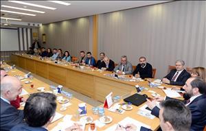 Üniversitemizde Kariyer Günleri ve Bahar Etkinlikleri Hakkında Toplantı Düzenlendi
