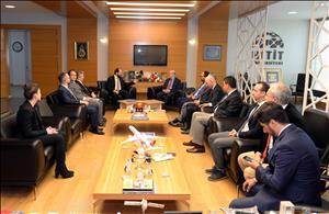 Albaraka Türk Katılım Bankası Genel Müdürü Rektörümüzü Ziyaret Etti