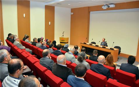 HÜBTUAM Konferans Salonu'na Merhum Seydi Mebet'in Adı Düzenlenen Törenle Verildi