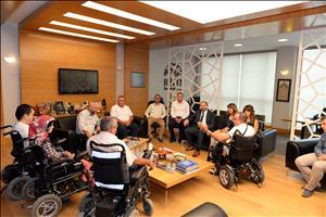 Üniversitemiz Engelli Bireylere Yönelik Çalışmalarını Sürdürüyor