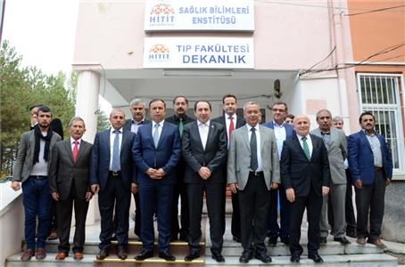 Rektörümüz AK Parti Çorum Milletvekili Adayı A. Sami Ceylan ile