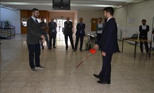 Öğrencilerimiz Görme Engelliler İçin Sensörlü Baston İcat Etti