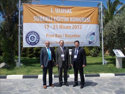 Üniversitemiz I. Ulusal sem kongresine katıldı