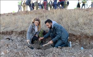 Hitit Üniversitesi 10. Yıl Hatıra Ormanı Oluşturuldu