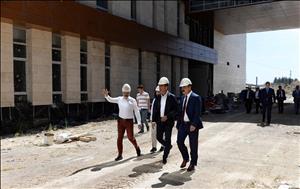 Milletvekilimiz Ceylan ve ÇTSO Yönetim Kurulu Başkanı Başaranhıncal, Rektörümüz Prof. Dr. Öztürk'ü Ziyaret Etti