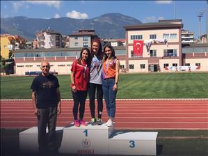 Üniversitemiz Atletizm Takımından Başarı