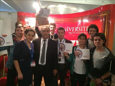 Üniversitemiz Ankara ve Eskişehir'de Tanıtım Etkinliklerine Katıldı