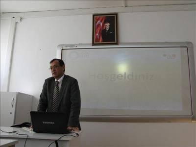 GREAT Projesi Kapsamında Prof. Dr. Yahşi YAZICIOĞLU Konuğumuz Oldu