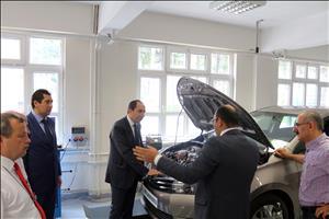 Motorlu Araçlar ve Ulaştırma Teknolojileri Laboratuvarımız Hızla Büyüyor