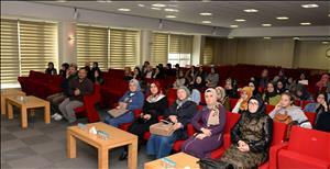 Emine-Ahmet Yeni Kız Anadolu İHL Üniversitemize Ziyarette Bulundu