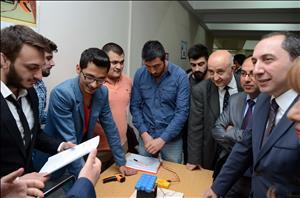 Mühendislik Fakültesi Öğrencilerimizden Proje Atağı