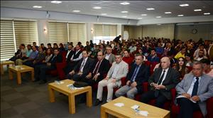 """Üniversitemizde """"Türk Dış Politikası ve Bölgesel Gelişmeler"""" Konulu Konferans Düzenlendi"""