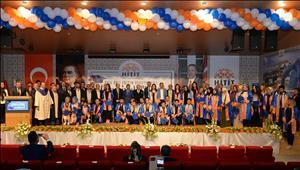 2016-2017 Eğitim Öğretim Yılı Mezuniyet Törenimizi Büyük Bir Coşkuyla Kutladık