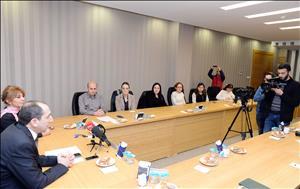 Üniversitemizin Bağımlılıkla Mücadele Uygulama ve Araştırma Merkezi Tanıtım Toplantısı Yapıldı