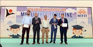 HİTÜ Çocuk Üniversitesi 2018 Mezuniyet Töreni Gerçekleştirildi