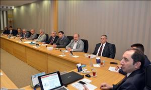 Üniversitemizde İş Sağlığı ve Güvenliği Üst Kurul Toplantısı Düzenlendi