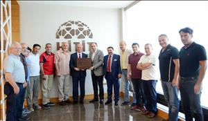 Türkiye Üniversite Sporları Federasyonundan Üniversitemize Ziyaret