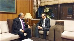 Rektörümüzden Çorum Milletvekilimiz Salim Uslu'ya Ziyaret