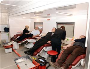 Üniversitemizde Türk Kızılayı'na Kan Bağışında Bulunuldu