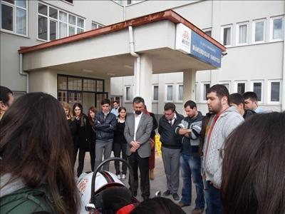 Mühendislik Fakültesine, Çorum Mehmetçik Lisesinden Ziyaret
