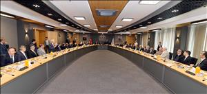 Erol Olçok Senato Salonumuz Dualarla Açıldı