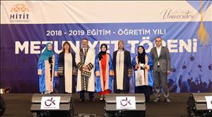2018-2019 Eğitim-Öğretim Yılı Mezuniyet Törenimizi Coşkuyla Kutladık