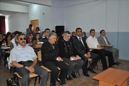 Altınokta Körler Derneği Yöneticileri Sungurlu MYO'da Konferans Verdi