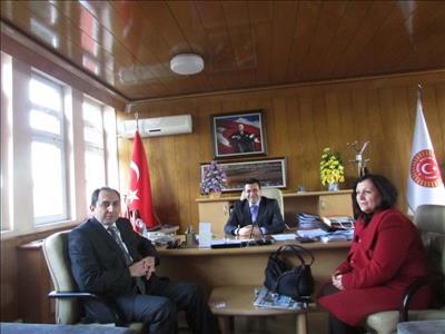 Rektörümüzden İl Genel Meclis Başkanına Ziyaret