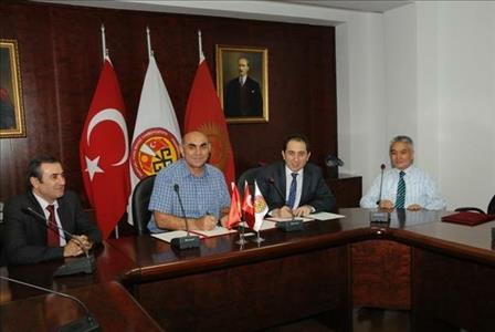 Üniversitemiz İle Kırgızistan - Türkiye Manas Üniversitesi Arasında Karşılıklı Akademik İşbirliği P