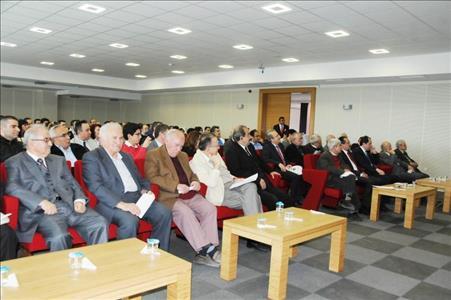 Prof. Dr. Sadık KAKAÇ Üniversitemizde Konferans Verdi